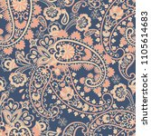 paisley pattern  great design... | Shutterstock .eps vector #1105614683