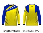 templates jersey for mountain... | Shutterstock .eps vector #1105683497