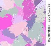 modern grunge brush seamless... | Shutterstock .eps vector #1105711793