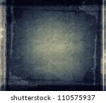 silhouette of a cross in the... | Shutterstock . vector #110575937