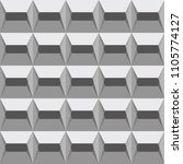 gray seamless pattern with... | Shutterstock .eps vector #1105774127