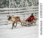 rovaniemi  finland   december... | Shutterstock . vector #1105812527