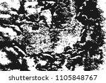 black grainy texture isolated... | Shutterstock .eps vector #1105848767