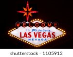 las vegas sign | Shutterstock . vector #1105912