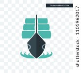 tall ship vector icon isolated... | Shutterstock .eps vector #1105962017