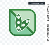 soy free vector icon isolated... | Shutterstock .eps vector #1105989437