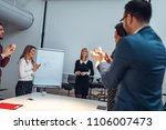 shot of a group of coworkers... | Shutterstock . vector #1106007473