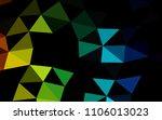 dark multicolor  rainbow vector ... | Shutterstock .eps vector #1106013023