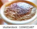 cup of morning coffee with... | Shutterstock . vector #1106021687