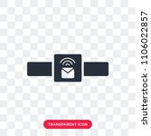smartwatch vector icon isolated ... | Shutterstock .eps vector #1106022857