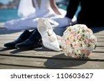 bridal bouquet   Shutterstock . vector #110603627
