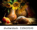 Autumn Still Life With Bread...