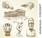 Ancient Greece   Hand Drawn...