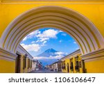ciudad de guatemala  guatemala  ... | Shutterstock . vector #1106106647