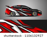 car decal vector  graphic...   Shutterstock .eps vector #1106132927