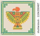 thunderbird. design element... | Shutterstock .eps vector #1106200487