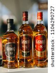 Small photo of bottles of grant's Scotch whiskey of different blend.