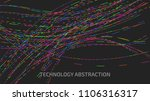 abstract vector background with ...   Shutterstock .eps vector #1106316317