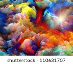 background design of dreamy... | Shutterstock . vector #110631707