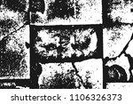 white grainy texture isolated... | Shutterstock .eps vector #1106326373