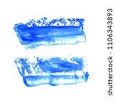 set of vector navy  turquoise... | Shutterstock .eps vector #1106343893