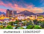 tucson  arizona  usa downtown... | Shutterstock . vector #1106352437