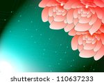 flower light beautiful abstract ... | Shutterstock . vector #110637233