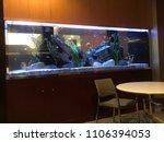 big fish tank | Shutterstock . vector #1106394053