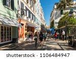 gibraltar  uk   may 18  2017 ...   Shutterstock . vector #1106484947