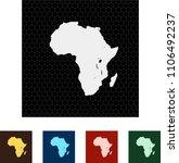 map of africa   Shutterstock .eps vector #1106492237