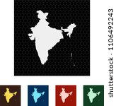 map of india   Shutterstock .eps vector #1106492243