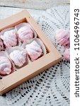 homemade currant pink... | Shutterstock . vector #1106496743