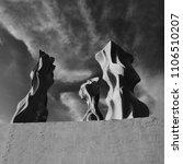 graceful sculptures made of... | Shutterstock . vector #1106510207