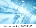 Abstract business center background - stock photo