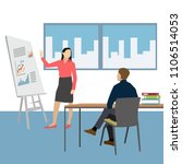 group of business people vector | Shutterstock .eps vector #1106514053