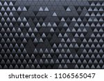 abstract 3d minimalistic... | Shutterstock . vector #1106565047