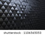 abstract 3d minimalistic... | Shutterstock . vector #1106565053