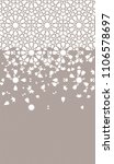 tile repeating vector border.... | Shutterstock .eps vector #1106578697