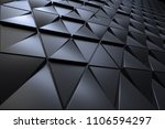 abstract 3d minimalistic... | Shutterstock . vector #1106594297