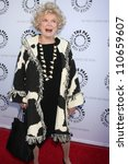 Small photo of LOS ANGELES - JUN 7: Phyllis Diller arrivimg at the Debbie Reynolds Hollywood Memorabilia Collection Auction & Auction Preview at Paley Center For Media on June 7, 2011 in Beverly Hills, CA