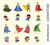 vector illustrations in flat... | Shutterstock .eps vector #1106647283