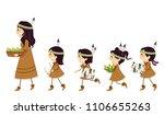 illustration of stickman kid... | Shutterstock .eps vector #1106655263