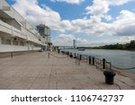 rostov on don embankment and... | Shutterstock . vector #1106742737