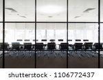 meeting boardroom in high class ... | Shutterstock . vector #1106772437