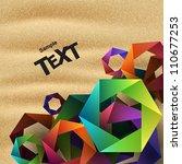vector background | Shutterstock .eps vector #110677253