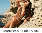 fashion outdoor photo of...   Shutterstock . vector #1106777483