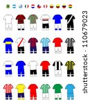 Latinamerican Clubs Jerseys Football Kits