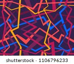 abstract geometric pattern with ... | Shutterstock .eps vector #1106796233