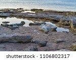 morning landscape of the sea... | Shutterstock . vector #1106802317