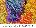 abstract texture closeup from... | Shutterstock . vector #1106802617